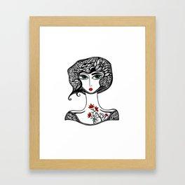 SCARLETT Framed Art Print