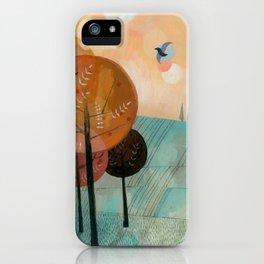 Trees & Birds iPhone Case