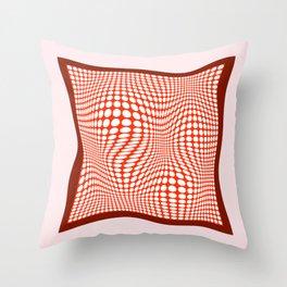 Silk Scarf Throw Pillow