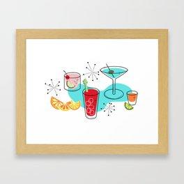 Cabo Cocktails Framed Art Print