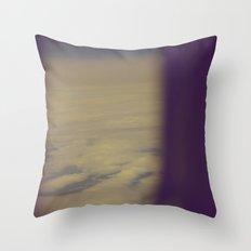 No Regrets (Vintage Color) Throw Pillow