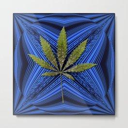 Loving in Blue.... Metal Print
