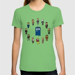 O'Clocktor Who T-shirt