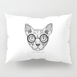 Offended Cat Pillow Sham