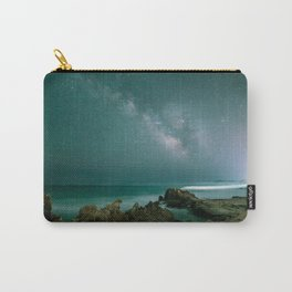Milky way in the sky of Sardinia Carry-All Pouch