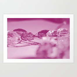 Pink Jewels Art Print