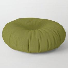 Monochrom 35 dark green Floor Pillow