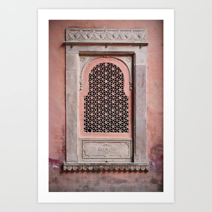 Bikaner Window 2 Art Print