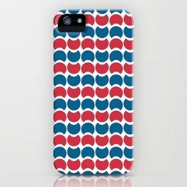 Hob Nob America Stripes iPhone Case
