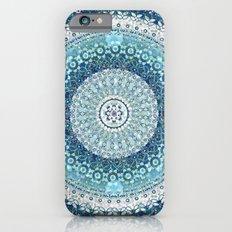 Teal Tapestry Mandala Slim Case iPhone 6