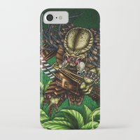 predator iPhone & iPod Cases featuring PREDATOR  by Bungle