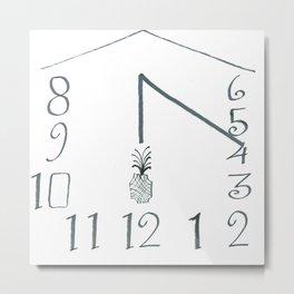 The Sundial of Wehlen Metal Print