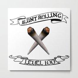 Blunt Rolling Level 100 Metal Print