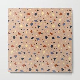 carpet pattern_cozy fall palette Metal Print