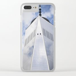 Top of the Tower Clear iPhone Case