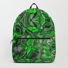 Abstract #8 - II - Neon Green Pop Backpack