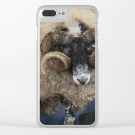 Dougal the Dancing Sheep Clear iPhone Case