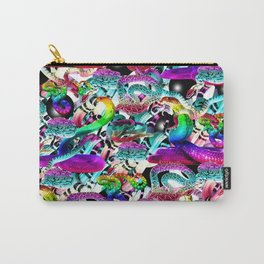 Neon Snakes Carry-All Pouch