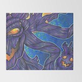 Mourning wood Throw Blanket