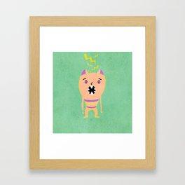 Grr, Argh Framed Art Print