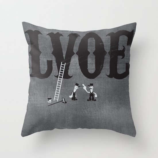 LVOE Throw Pillow