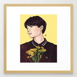 JUNG HOSEOK Framed Art Print