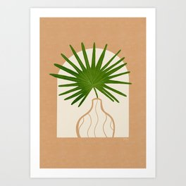 Fan Palm 2  Art Print
