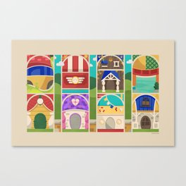 Posterized Toons Series Canvas Print