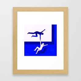 Pull Me Up Framed Art Print