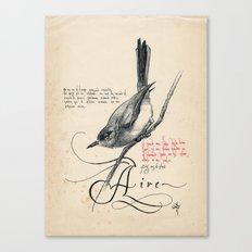 Bird 03 Canvas Print