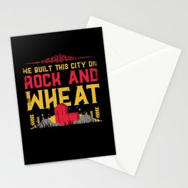 board game, settle, longest road Stationery Cards