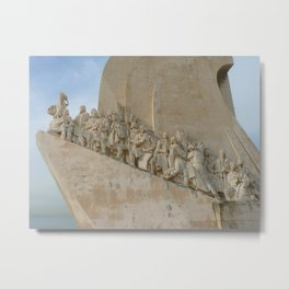 Monument to the discoveries Lisbon Metal Print