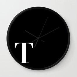 Initial T Wall Clock