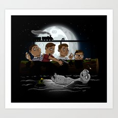 Stand By E.T. Art Print