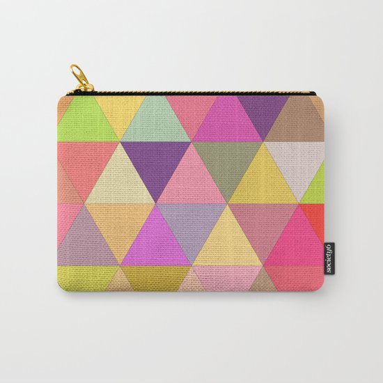 Happy geometry Carry-All Pouch