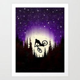 Moon Whip Art Print