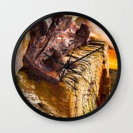 """OXIDE"" - Beachport Jetty, South Australia Wall Clock"