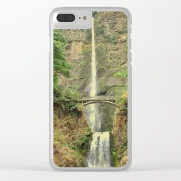 MULTNOMAH FALLS - OREGON Clear iPhone Case