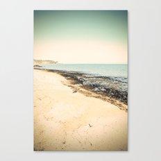 Winter Beach Canvas Print