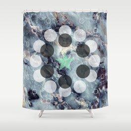 Nebuli Shower Curtain
