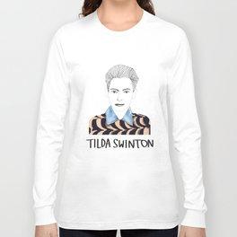 Tilda Swinton Long Sleeve T-shirt