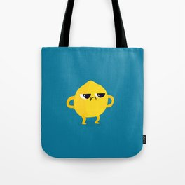 Grumpy Sour Lemon Tote Bag