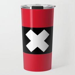 Flag of Amsterdam Travel Mug