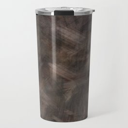 Brown dark misty look Travel Mug