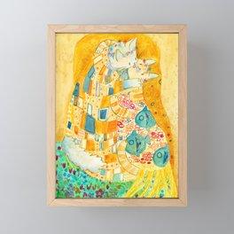 The Mlem Framed Mini Art Print