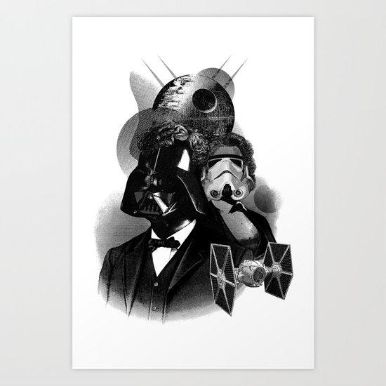 Galactic Republic Art Print