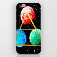 triforce iPhone & iPod Skins featuring Triforce by AbstractAnomaly
