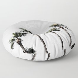 Palm Trees 5 Floor Pillow