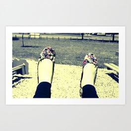 Play Shoes Art Print
