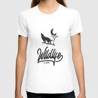wildlife T-shirts featuring Wildlife by wege17